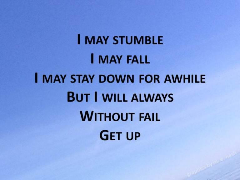 stumble