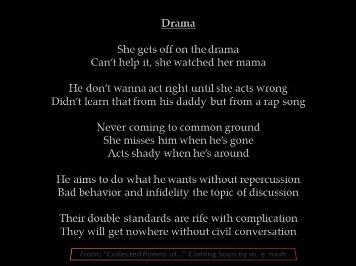 drama promo collected poems of