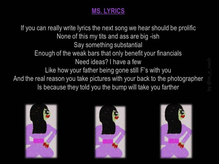 ms lyrics fully executed