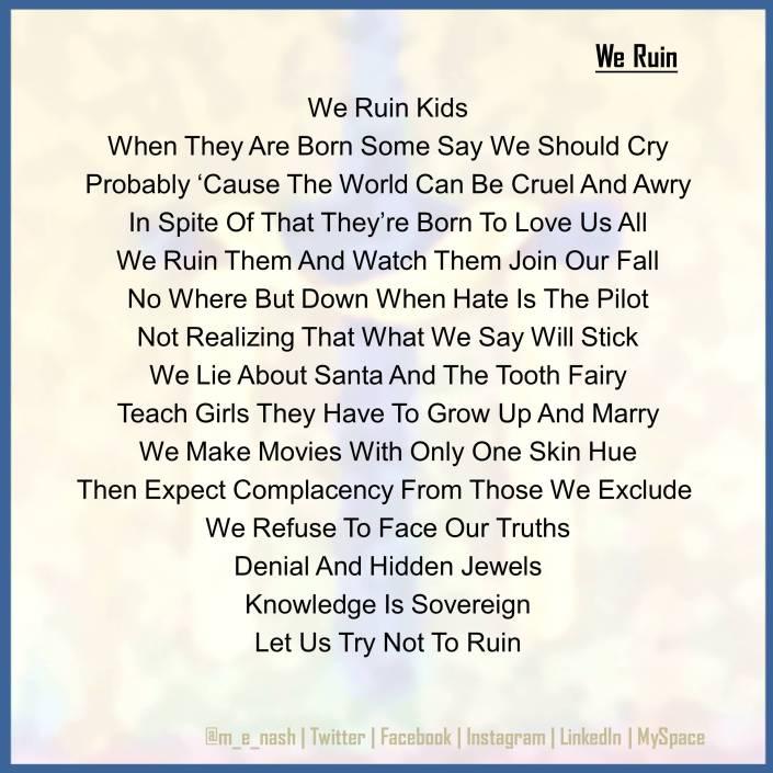 ruin kids